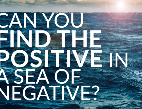 Can you find the positive in a sea of negative? (Video)